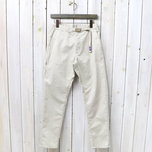 『Stretch Twill Tapered Pants』(Sand)
