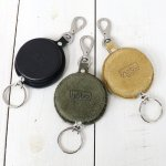 【SALE特価55%off】hobo『Cow Leather Reel Key Chain』