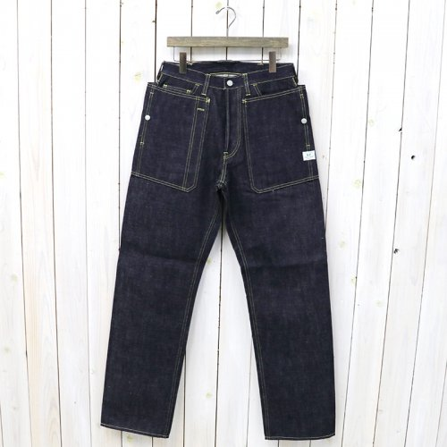 『FALL LEAF R STREAM PANTS(14oz DENIM)』(INDIGO)