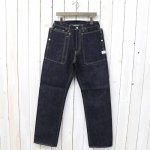 SASSAFRAS『FALL LEAF R STREAM PANTS(14oz DENIM)』(INDIGO)