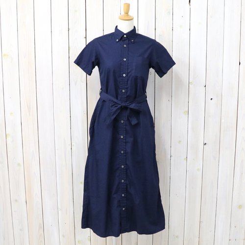 『BD Shirt Dress-Superfine Poplin』(Dk.Navy)