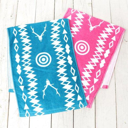 『Face Towel-Target & Skull』