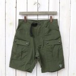 SOUTH2 WEST8『Belted Harbor Short-Wax Coating』(Olive)