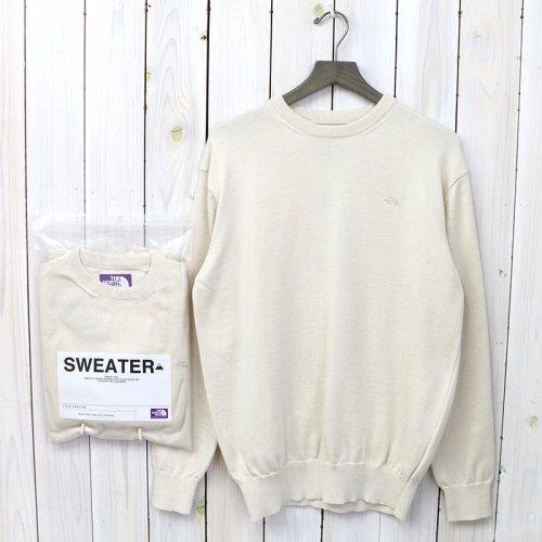『Pack Field Sweater』(Light Beige)
