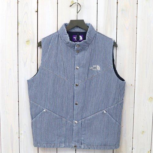 『Hickory Stripe Insulated Vest』