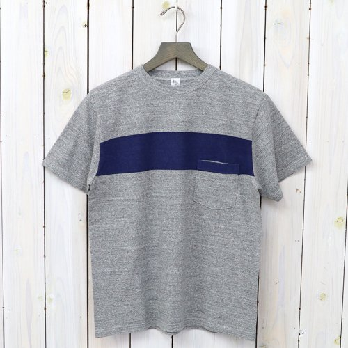 『Weat Coast Tee』(Feather Grey/Navy Line)