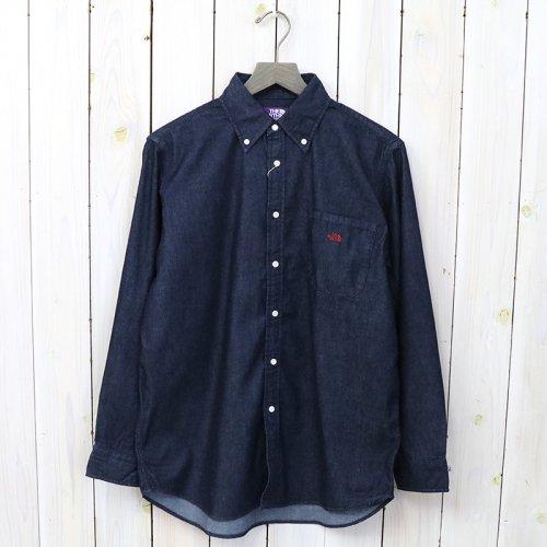 『Denim B.D Big Shirt』(Indigo)