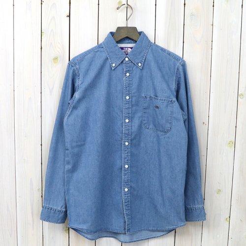 『Denim B.D Big Shirt』(Indigo Bleach)