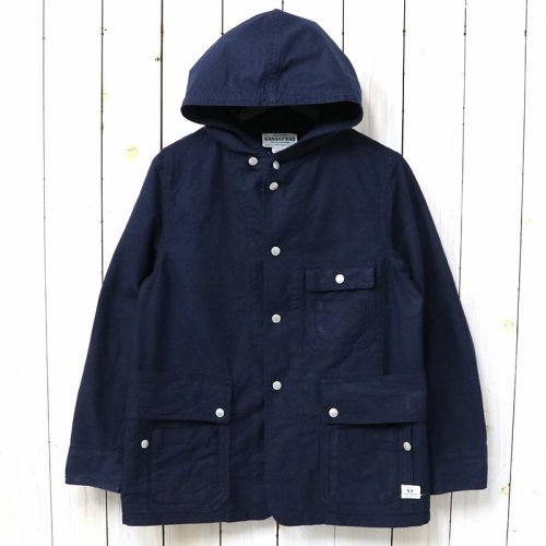 『SEEDS CARRY BUD JACKET(OXFORD)』(NAVY)