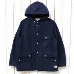 SASSAFRAS『SEEDS CARRY BUD JACKET(OXFORD)』(NAVY)