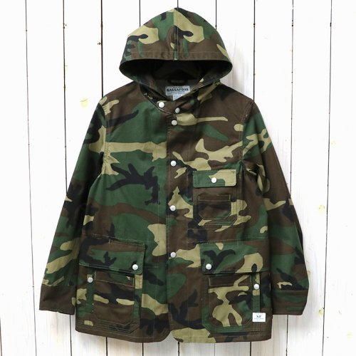 『SEEDS CARRY BUD JACKET(WEEDS POPLIN)』(WOODLAND)