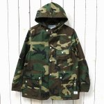 SASSAFRAS『SEEDS CARRY BUD JACKET(WEEDS POPLIN)』(WOODLAND)