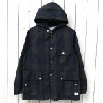 SASSAFRAS『SEEDS CARRY BUD JACKET(MEMORY TWILL)』(CHECK)