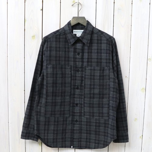 『PRUNER LEAF HALF(PLAIN WEAVE)』(BLACK)