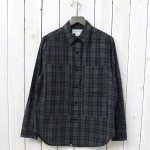 SASSAFRAS『PRUNER LEAF HALF(PLAIN WEAVE)』(BLACK)