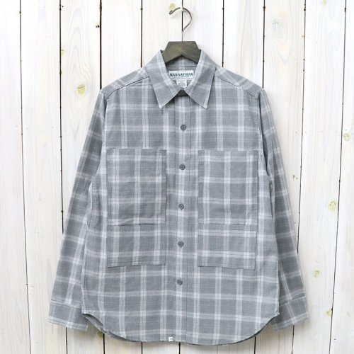 『PRUNER LEAF HALF(PLAIN WEAVE)』(GRAY)
