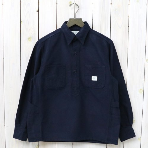 『GARDENER SHELL HALF(OXFORD)』(NAVY)