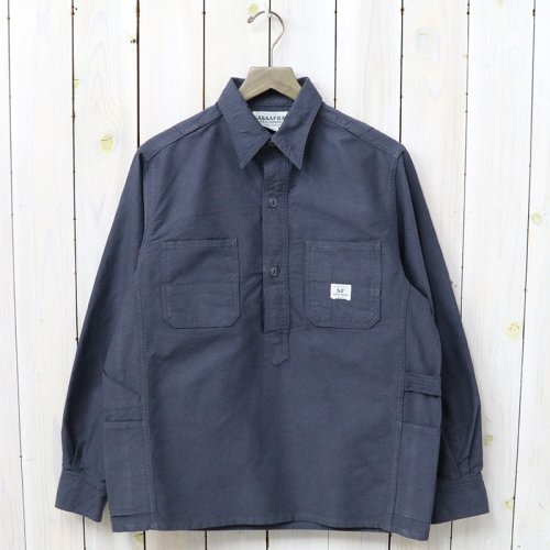 『GARDENER SHELL HALF(OXFORD)』(CHARCOAL)
