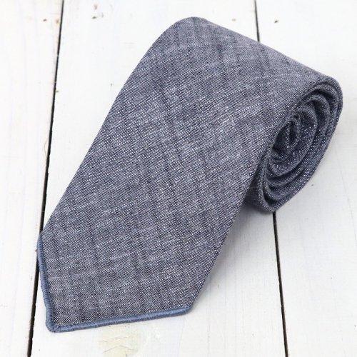 『Neck Tie-Metallic Chambray』(Grey)