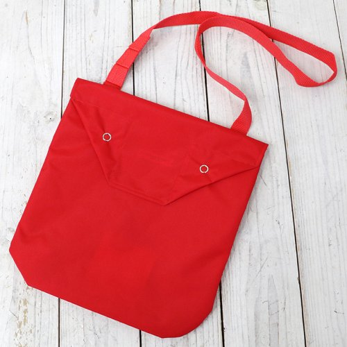 『Shoulder Pouch-Pack Cloth』(Red)