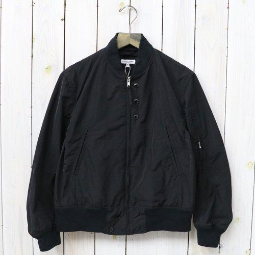 『Aviator Jacket-Memory Polyester』(Black)