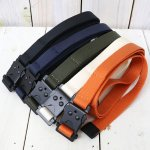 hobo『Nylon Tape Belt with Iron Buckle』