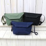 hobo『Cotton Nylon Grosgrain Flap Shoulder Bag』