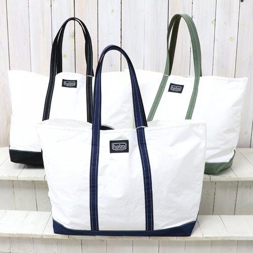 『Cotton Nylon Grosgrain Tote Bag L』