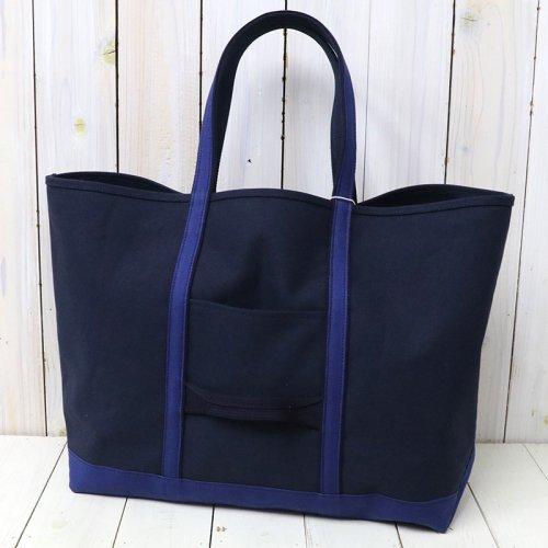 『Cotton Canvas Tote Bag L』(Navy)