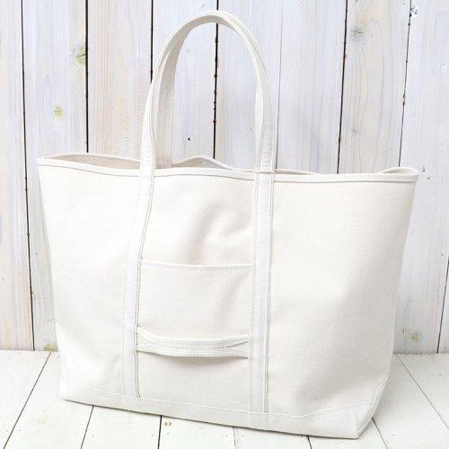 『Cotton Canvas Tote Bag L』(Natural)