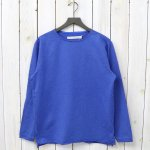 CURLY『BLENDER LS BOAT TEE』(BLUE)