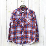 ENGINEERED GARMENTS『Western Shirt-Cotton Plaid』(Red/Royal Blue)