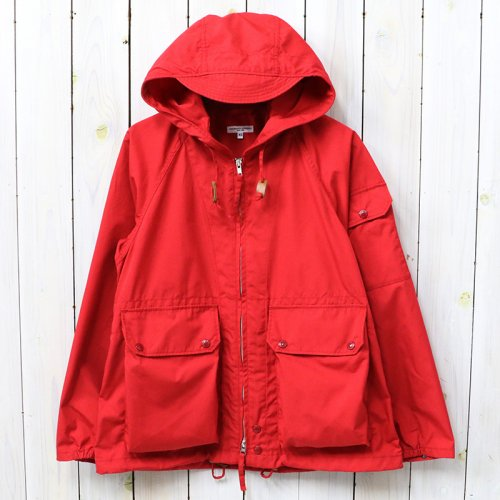 『Atlantic Parka-PC Poplin』(Red)
