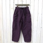 SOUTH2 WEST8『Belted Center Seam Pant-Nylon Tussore』(Purple)