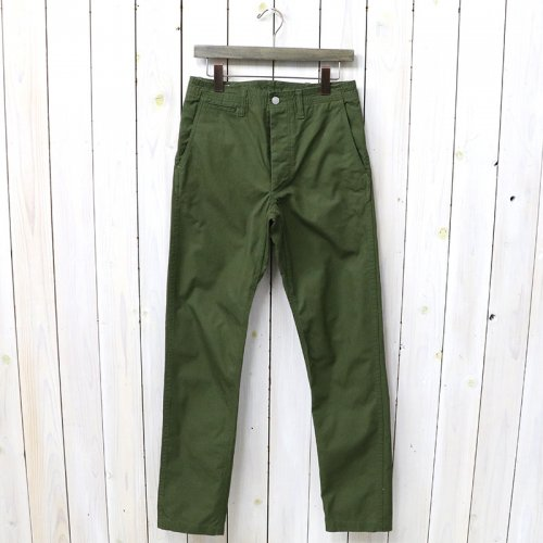 『SPRAYER PANTS(VENTILE OXFORD)』(OLIVE)