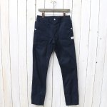 SASSAFRAS『FALL LEAF SPRAYER PANTS(VENTILE OXFORD)』(NAVY)