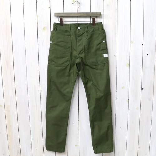 『FALL LEAF SPRAYER PANTS(VENTILE OXFORD)』(OLIVE)