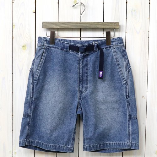 『Indigo Chambray Field Shorts』(Indigo Bleach)