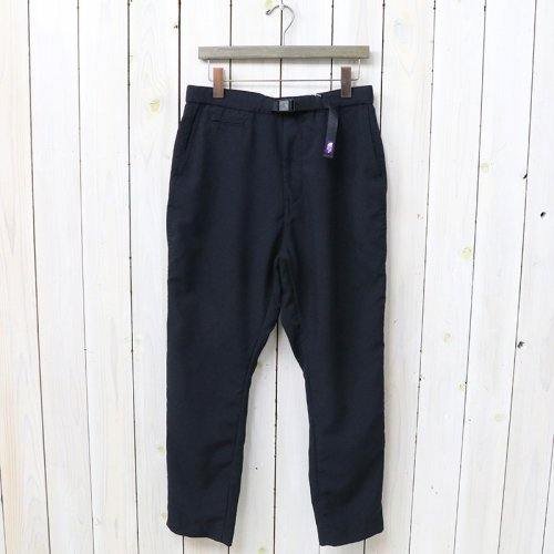 『Polyester Tropical Oriental Pants』(Navy)