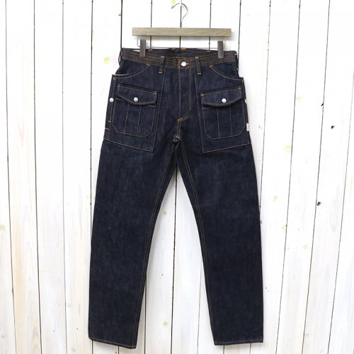 『BOTANICAL SCOUT R PANTS(14oz DENIM)』(INDIGO)