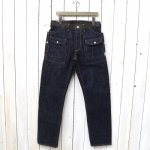 SASSAFRAS『BOTANICAL SCOUT R PANTS(14oz DENIM)』(INDIGO)