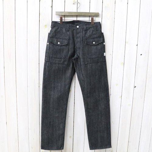 『BOTANICAL SCOUT R PANTS(14oz DENIM)』(BLACK)