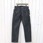 SASSAFRAS『BOTANICAL SCOUT R PANTS(14oz DENIM)』(BLACK)