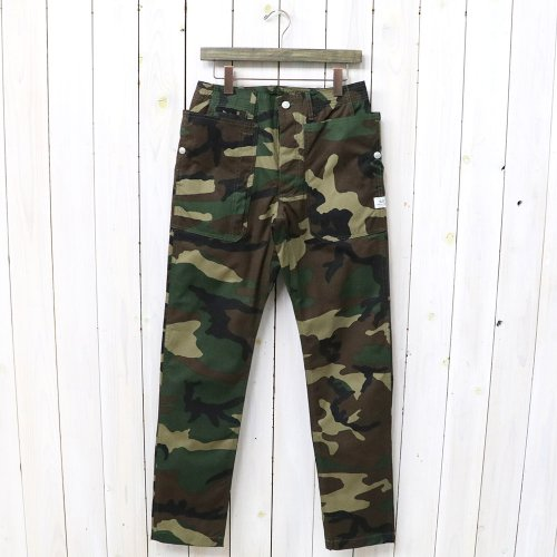 『FALL LEAF SPRAYER PANTS(WEEDS POPLIN)』(WOODLAND)