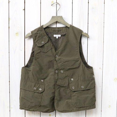 『Upland Vest-4.5oz Waxed Cotton』
