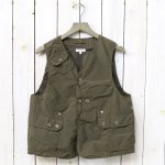 ENGINEERED GARMENTS『Upland Vest-4.5oz Waxed Cotton』