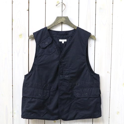 『Upland Vest-High Count Twill』(Dk.Navy)