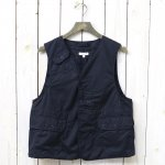 ENGINEERED GARMENTS『Upland Vest-High Count Twill』(Dk.Navy)