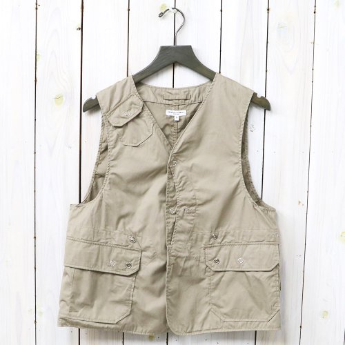 『Upland Vest-High Count Twill』(Khaki)