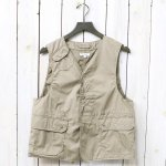 ENGINEERED GARMENTS『Upland Vest-High Count Twill』(Khaki)